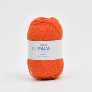 Pallas oranssi villalanka.