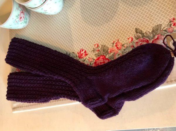 Violetit villasukat
