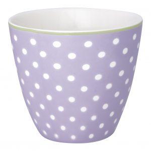 Greengate latte spot lavendar