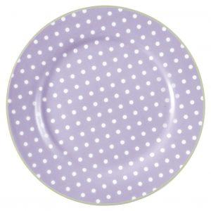 Greengate lautanen Spot lavendar