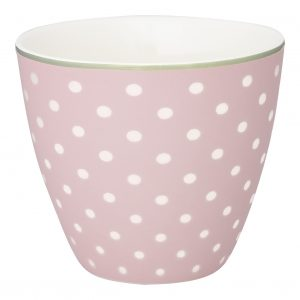 Greengate spot pale pink latte
