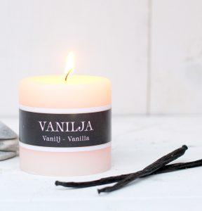 Vanilja tuoksukynttilä